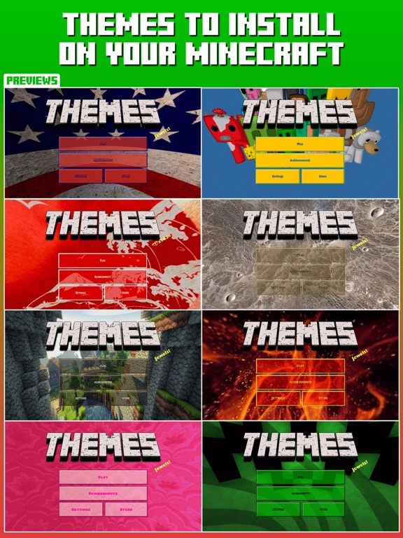 Themes for Minecraft screenshot 4