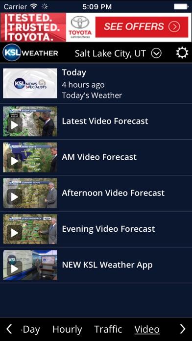 Ksl Weather review screenshots