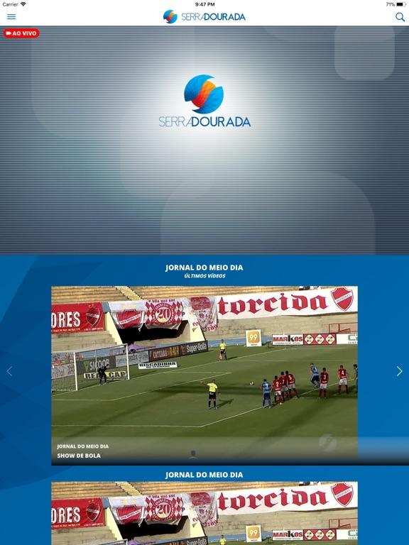 iPad Image of TV Serra Dourada