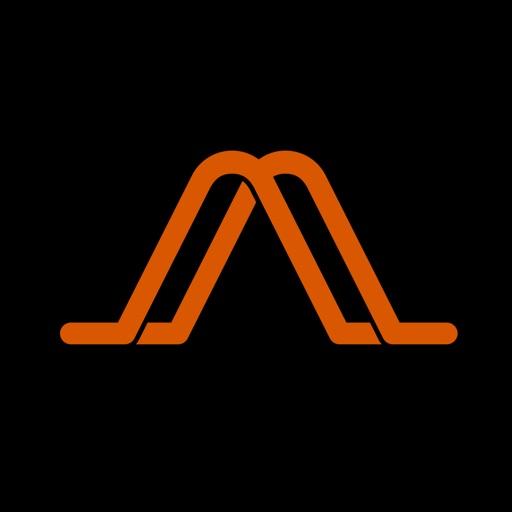 Audm - The Atlantic, WIRED app logo