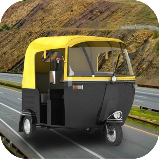 Hill Chingchi Rickshaw 3D