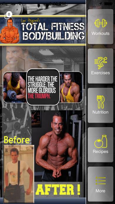 Total Fitness Bodybuilding Appのおすすめ画像1