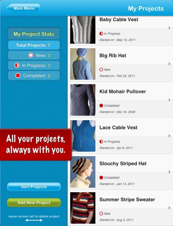 JKnitHD Pro - Knitting Helper