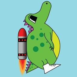Rocketsaur