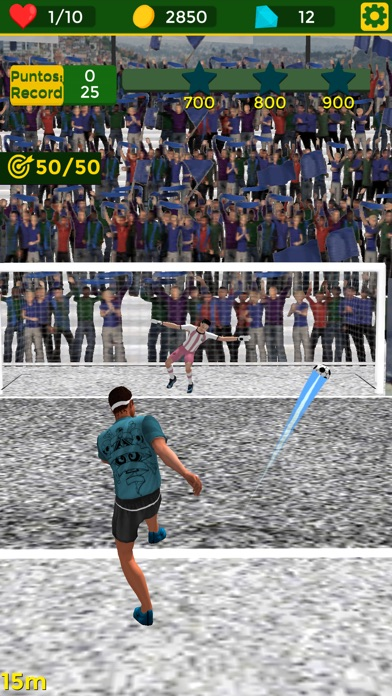 Dream Legend 18: Street Soccer Screenshot on iOS