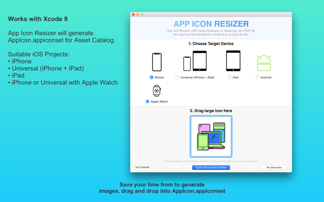 App Icon Resizer (AIR) on the Mac App Store
