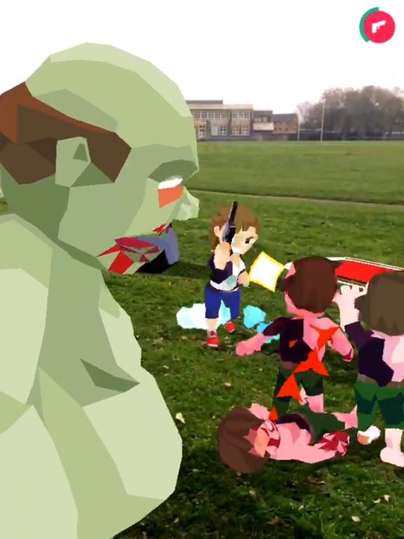 zombies! ARgh! на iPad