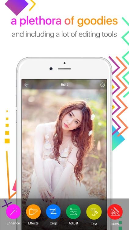 Photo editor - collage & edit screenshot-4