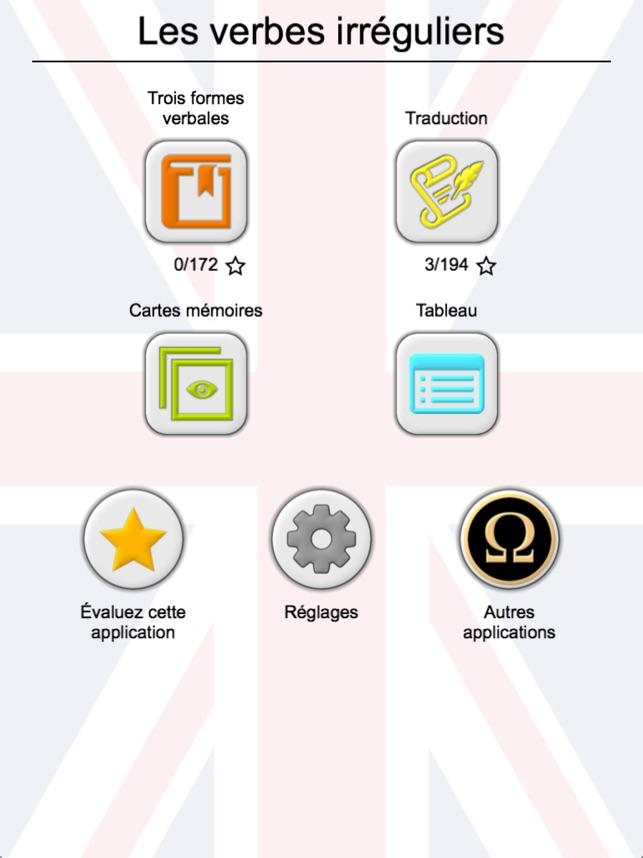200 Verbes Irreguliers Anglais Dans L App Store