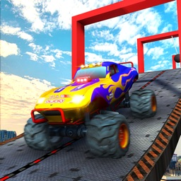 Impossible Monster Car Ramps