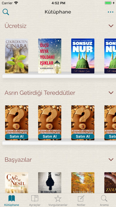 Fethullah Gülen Kitaplığı screenshot one