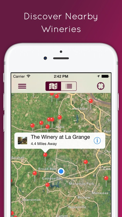 VinoWine - Winery Finder