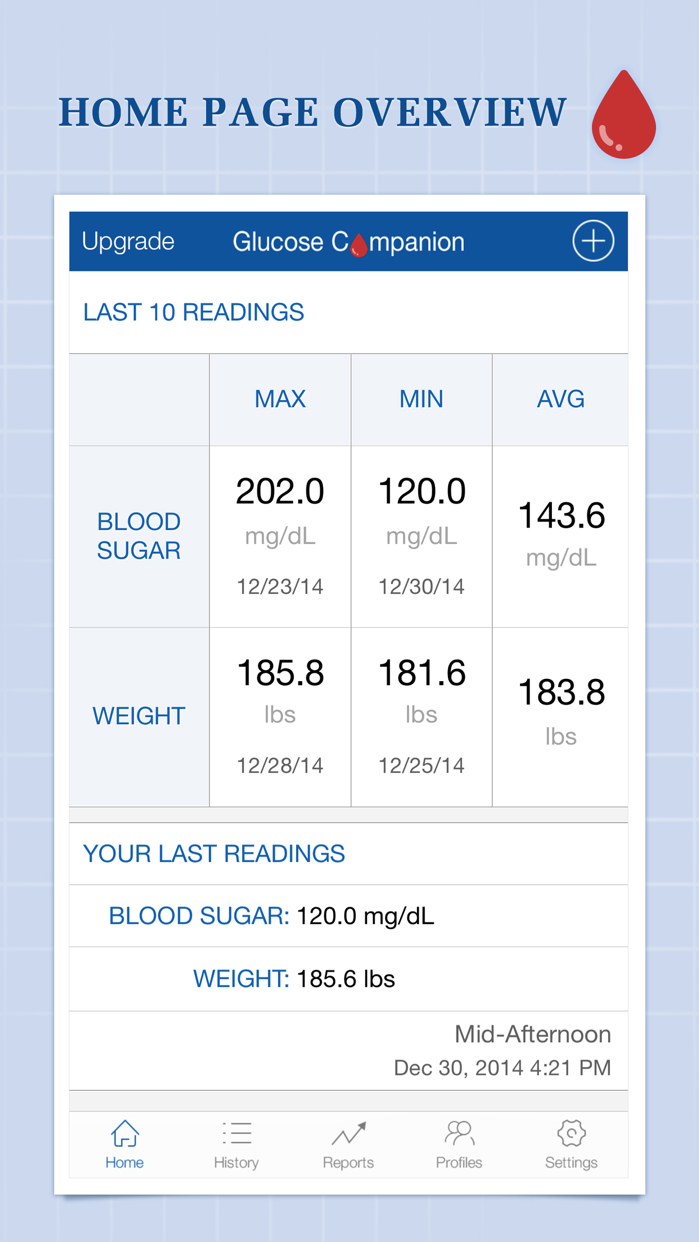 Glucose Companion Screenshot