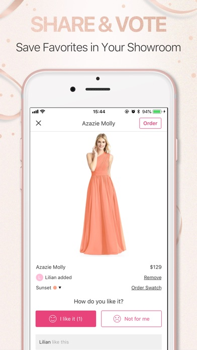 bd389d567ce ... Azazie Shop Bridesmaid Dresses screenshot