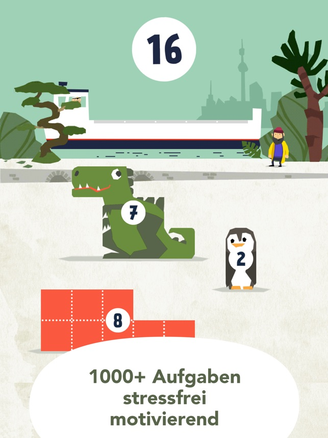 Fiete Math-Kinder Mathe Spiel Screenshot