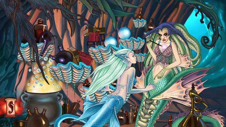 The Little Mermaid Game Book screenshot-3