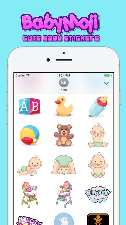 BabyMoji - Cute Baby Stickers