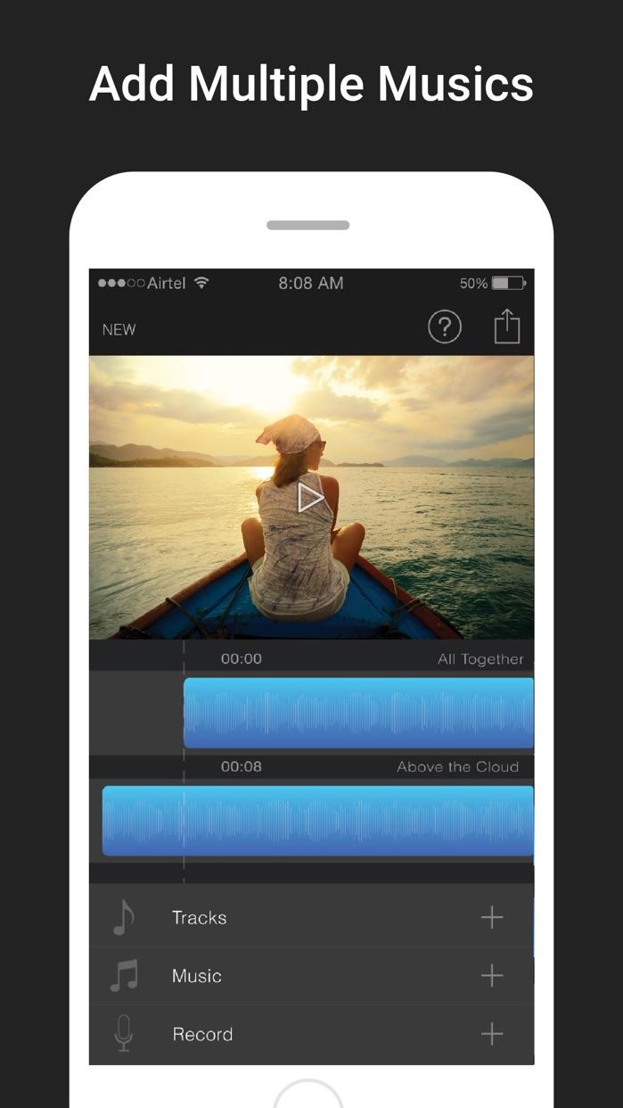 Add Music To Video Editor Screenshot