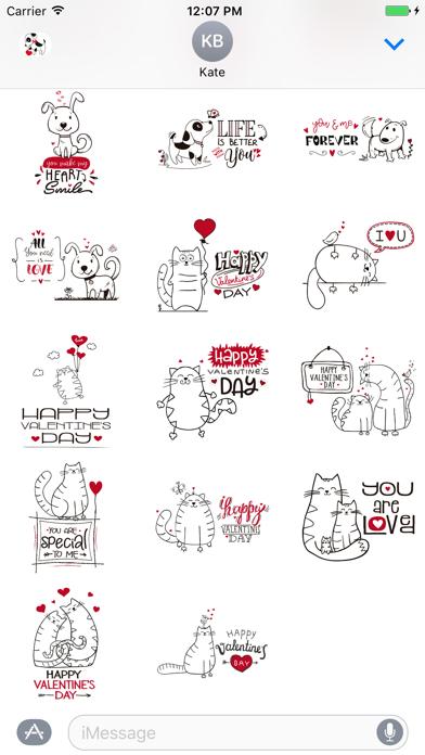 Cat, Dog and Bird Love screenshot two