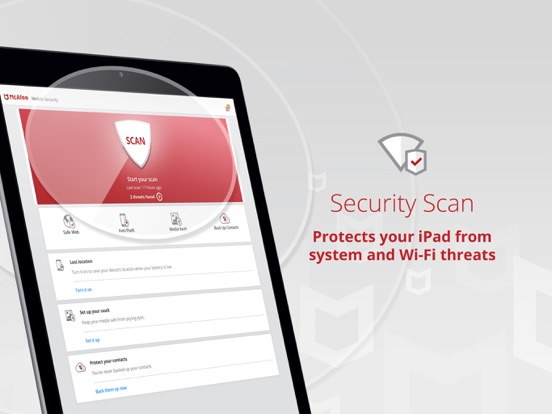 Mobile Security & Wifi Scan Screenshots
