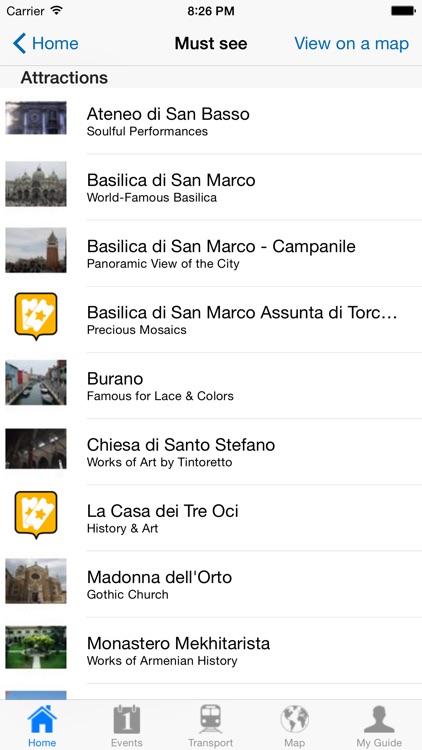 Venice Travel Guide Offline screenshot-3