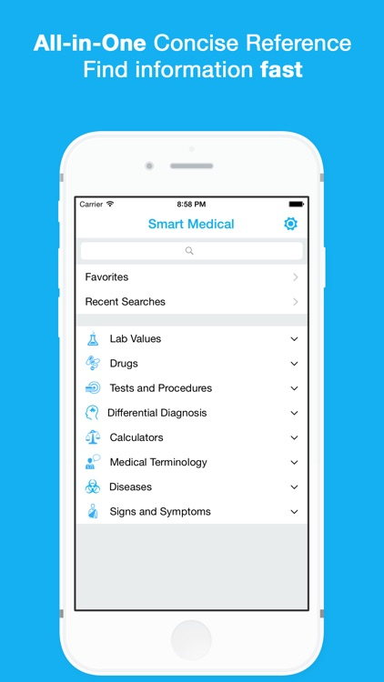 Smart Medical Reference screenshot-0
