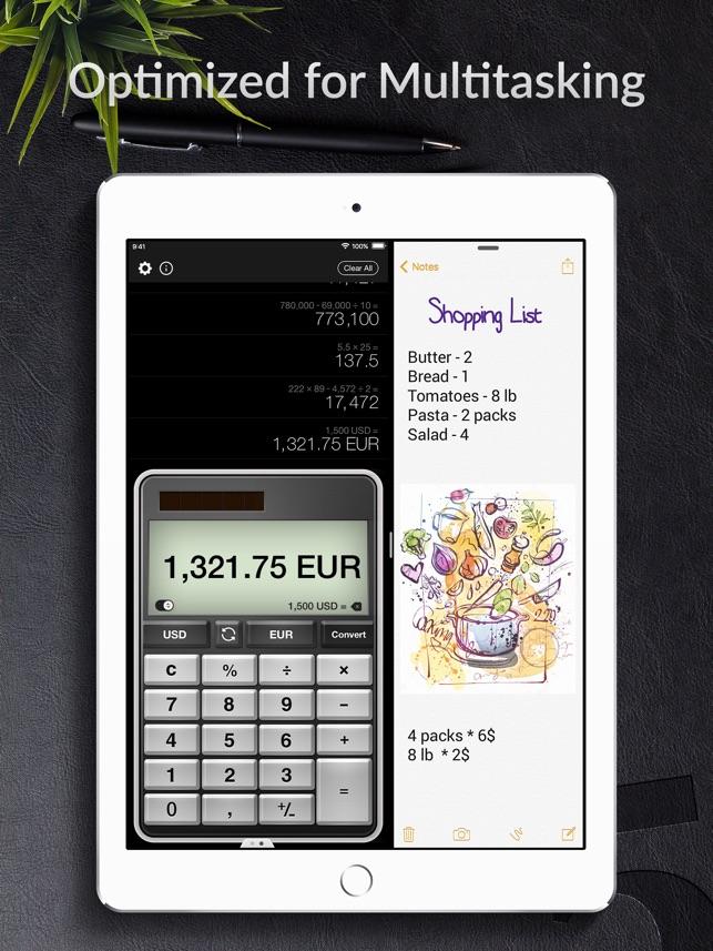 Calculator Pro For Ipad 4