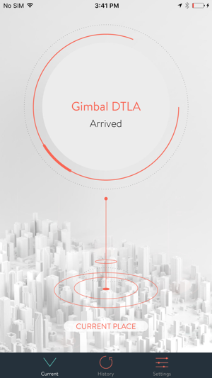 Hello Gimbal on the App Store