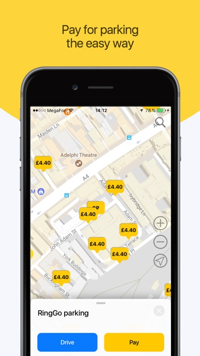 ParkApp parking screenshot two