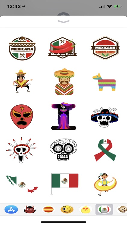 Los Stickers de Mexico