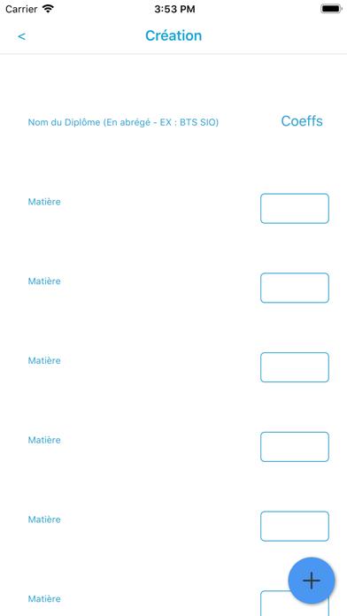 Screenshot of My_Marks App