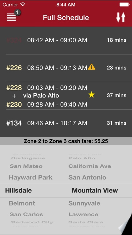 CaltrainMe screenshot-0