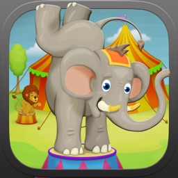 Circus puzzle kids game