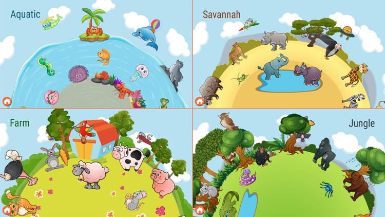 82 Kids Puzzles Learn Animals screenshot-3
