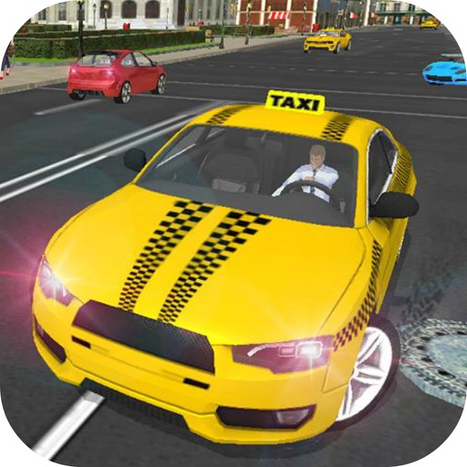 Parking CITY TAXI - Driver Sim icon