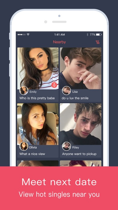 Naught Meet - Chat and Date Screenshot