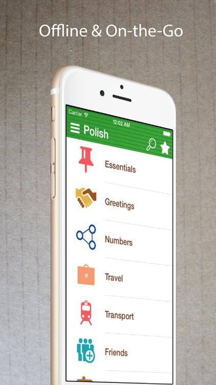 Learn Polish Phrasebook Pro + screenshot-4