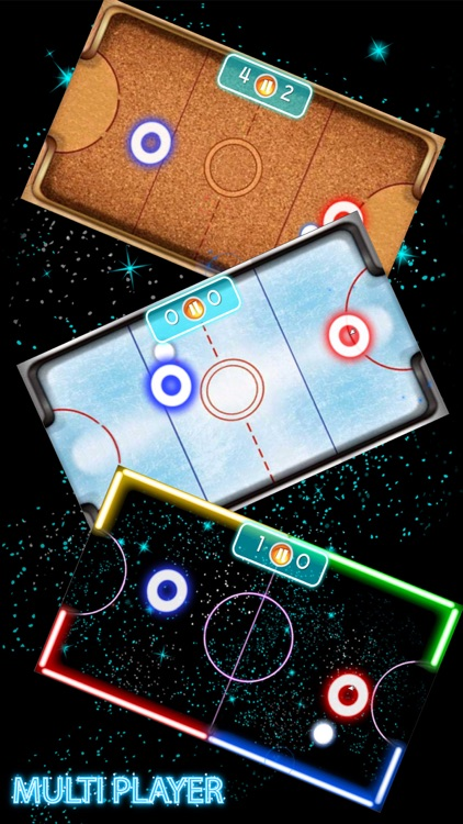 Glow Hockey HD 2 Player