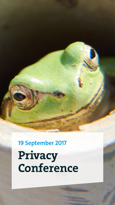 Privacy Conference 2017 screenshot 1