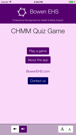 CHMM Quiz Game on the App Store