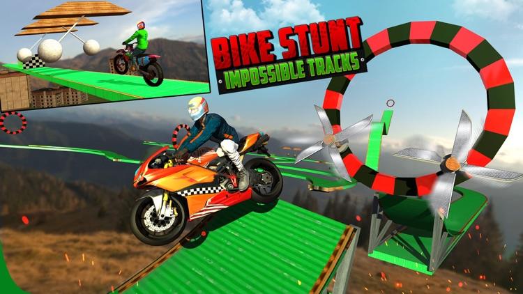 Bike Stunts Impossible Tracks Rider app image