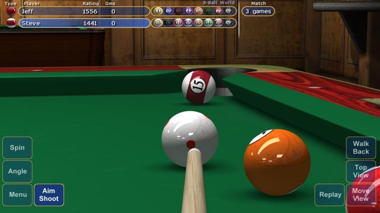 Virtual Pool 4 for iPhone screenshot-0