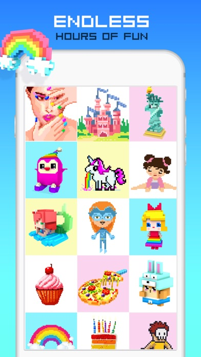 download RAINBOW Color by Number apps 1