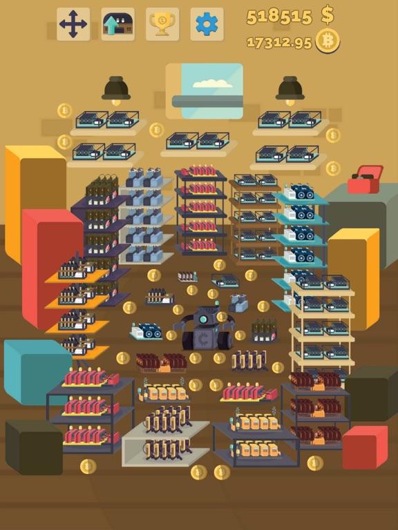 Bitcoin mining: life simulator-ipad-4