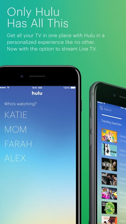 Hulu with Live TV screenshot-1
