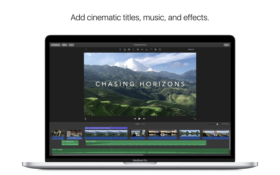 iMovie 10 1 10 – Edit personal videos and share them   macOS   NMac Ked