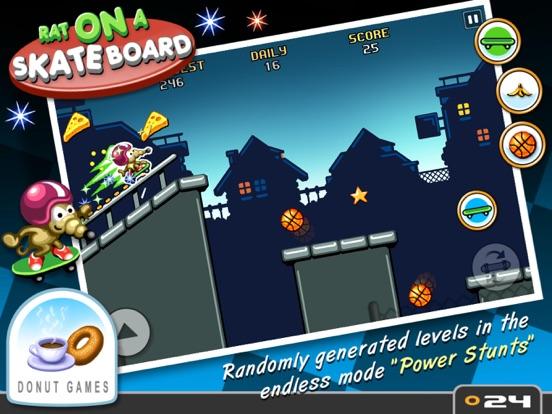Rat On A Skateboard Screenshots