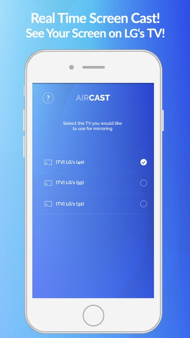 Air Cast - LG Smart TV Mirror IPA Cracked for iOS Free Download