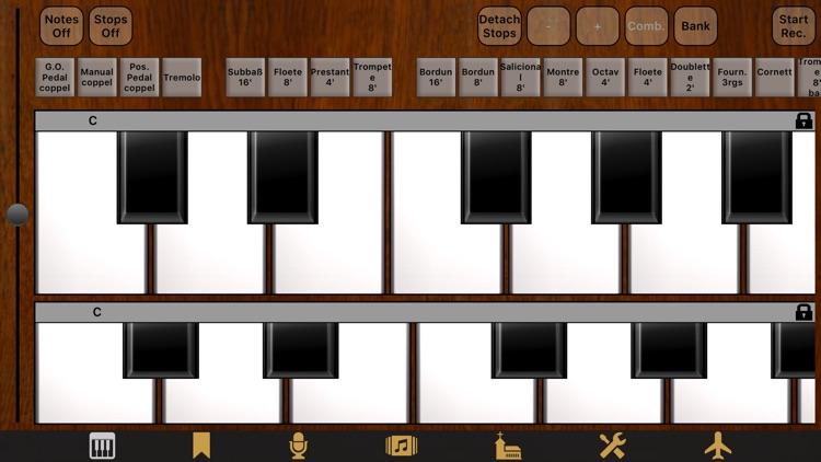 Jeux d'orgues