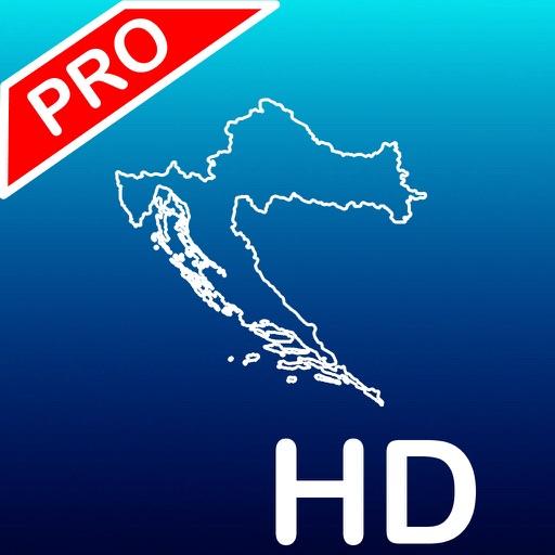 Aqua Map: Croatia  - GPS Nautical Charts